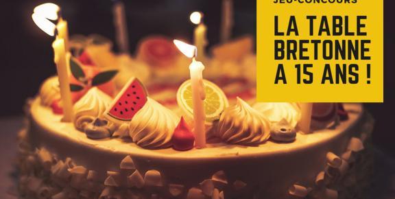 La Table Bretonne fête ses 15 ans !
